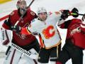 В матче НХЛ произошла массовая драка