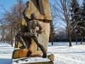 Во Львове неизвестные отпилили руку памятнику воинам-афганцам