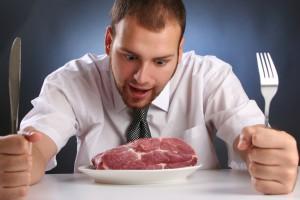 Кусок мяса - солидный кусок энергии