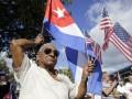 В Майами прошли протесты против сближения Кубы с США
