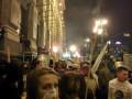 В Киеве на Майдане устроили массовую драку со стрельбой