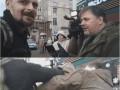В Киеве Бык из Правого сектора ударил Коцабу