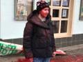 В Ужгороде феминисток облили красной краской