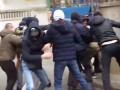 На киевского активиста напала толпа