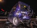 В Киеве произошло крупное ДТП с участием 5 автомобилей
