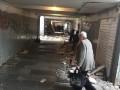 В переходе возле метро Черниговская снесли МАФы