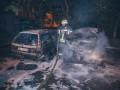 За сутки в Киеве сгорели шесть авто