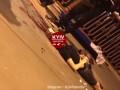 В Киеве парень сорвался с опоры пешеходного моста и погиб