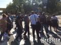 В Николаеве протестующие перекрыли одну из главных улиц