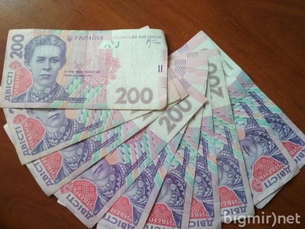 В Украине выросла среднемесячная зарплата