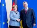 Меркель осенью приедет в Украину - Порошенко