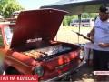 В Кривом Роге мужчина устроил мангал в автомобиле