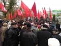 В Запорожье отмечали 100-летие Октября: есть задержанные