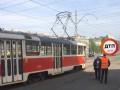 В Киеве трамвай переехал женщину