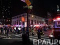 Появилось видео момента сильного взрыва в Нью-Йорке