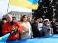 Донецкий Евромайдан почтил память погибших в Киеве и создал Народный совет