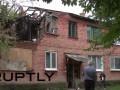 В селе под Луганском люди остались жить в разрушенных домах (видео)