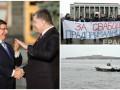 День в фото: встреча президентов, морские учения и протесты в Минске