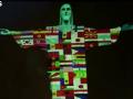 В Рио статую Христа подсветили флагами стран, где бушует коронавирус