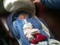Правоохранители Киева ищут мать, которая оставила младенца в вагоне электрички