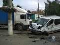 В Виннице столкнулись четыре авто, есть жертвы