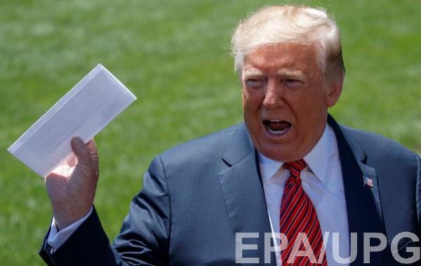 Дональд Трамп случайно раскрыл детали секретного соглашения