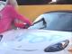 Блондинка с топором и Porsche: стали известны новые подробности