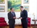 Новый посол Польши вручил верительные грамоты замглавы МИД