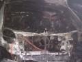 В Харькове на парковке сожгли элитные автомобили