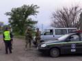 При въезде в Геническ после взрыва усилили меры безопасности
