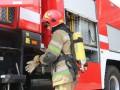 В Киеве потушили пожар на Русановских садах