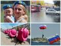 Неделя в фото: День ВДВ, потоп в Киеве и улитки для Кличко