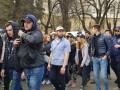 Нацкорпус в Киеве проводит акцию