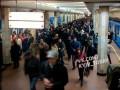 На станции метро Берестейская человек упал на рельсы