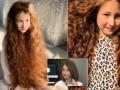 В Харькове школьница подарила волосы больной девочке