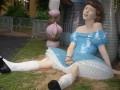 На Пейзажной аллее появилась новая скульптура