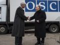 Швейцария передала ОБСЕ в Украине два жилых модуля