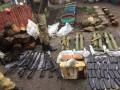 Силовики изъяли арсенал оружия у задержанных на Донбассе пособников боевиков