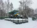 В России задержали подозреваемых в раскрашивании памятников в Новосибирске