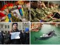 Неделя в фото: память о Небесной Сотне, новая прическа Тимошенко и кит в Венеции