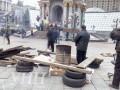 На Майдане протестующие активисты установили шесть палаток