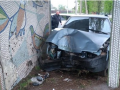 Под Винницей пьяный на авто врезался в остановку