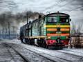 На Николаевщине тепловоз столкнулся с микроавтобусом