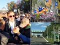 Итоги выходных: Саакашвили в Одессе, референдум в Каталонии и убийство на границе с Украиной