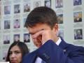Разумков расплакался после общения с матерями погибших воинов
