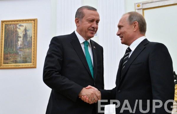 Эрдоган считает, что Москва поможет решить конфликт с Сирией
