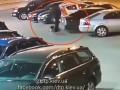 Появилось видео взрыва авто офицера ГУР в Киеве