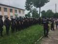На акции в Ровенской области пострадал начальник патрульной полиции