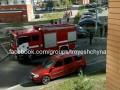 В Киеве мужчина стрелял из окна и поджег свой балкон