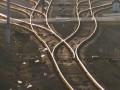 В Донецкой области сошел с рельс грузовой поезд